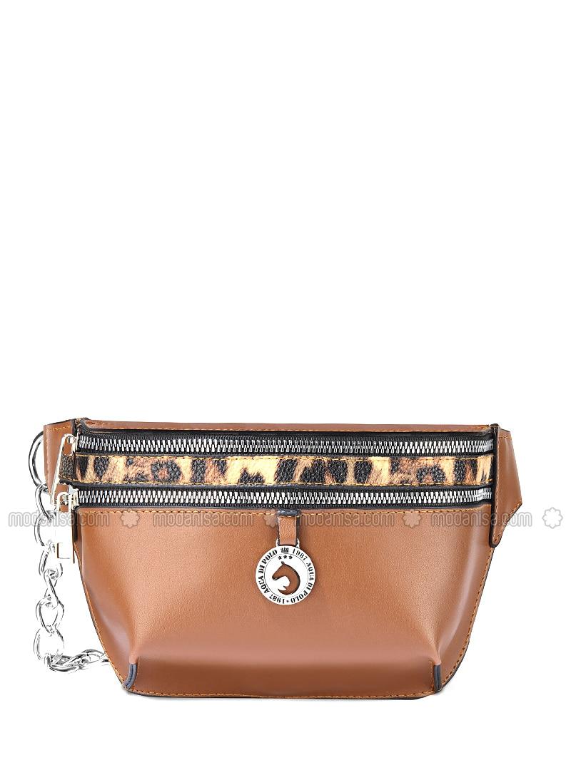 Brown - Satchel - Crossbody - Bum Bag