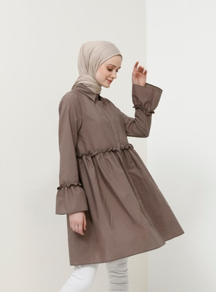 Minc - Point Collar - Cotton - Tunic
