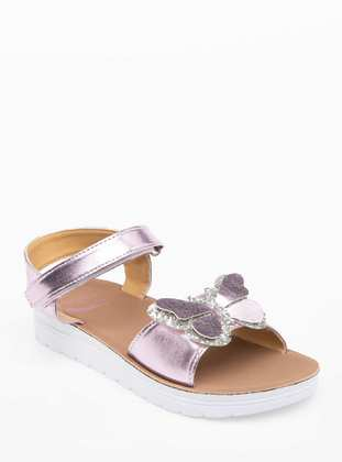 Purple - Girls` Sandals