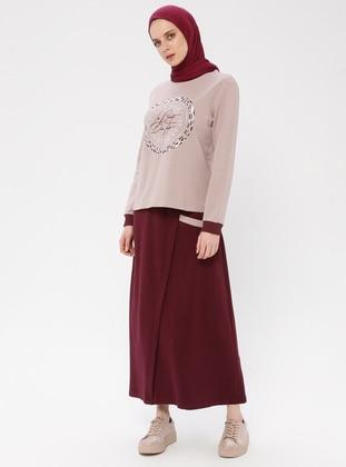 Lilac - Unlined - Cotton - Suit