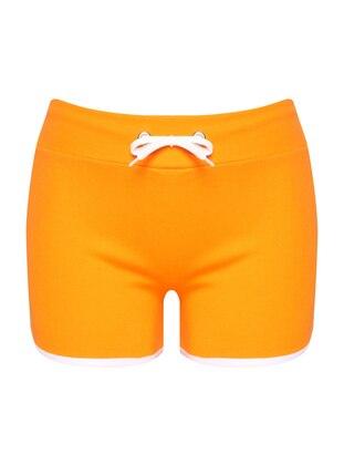White - Orange - Cotton - Panties