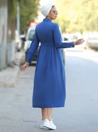 Saxe - Point Collar - Unlined - Dress