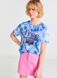 Indigo - Crew neck - T-Shirt