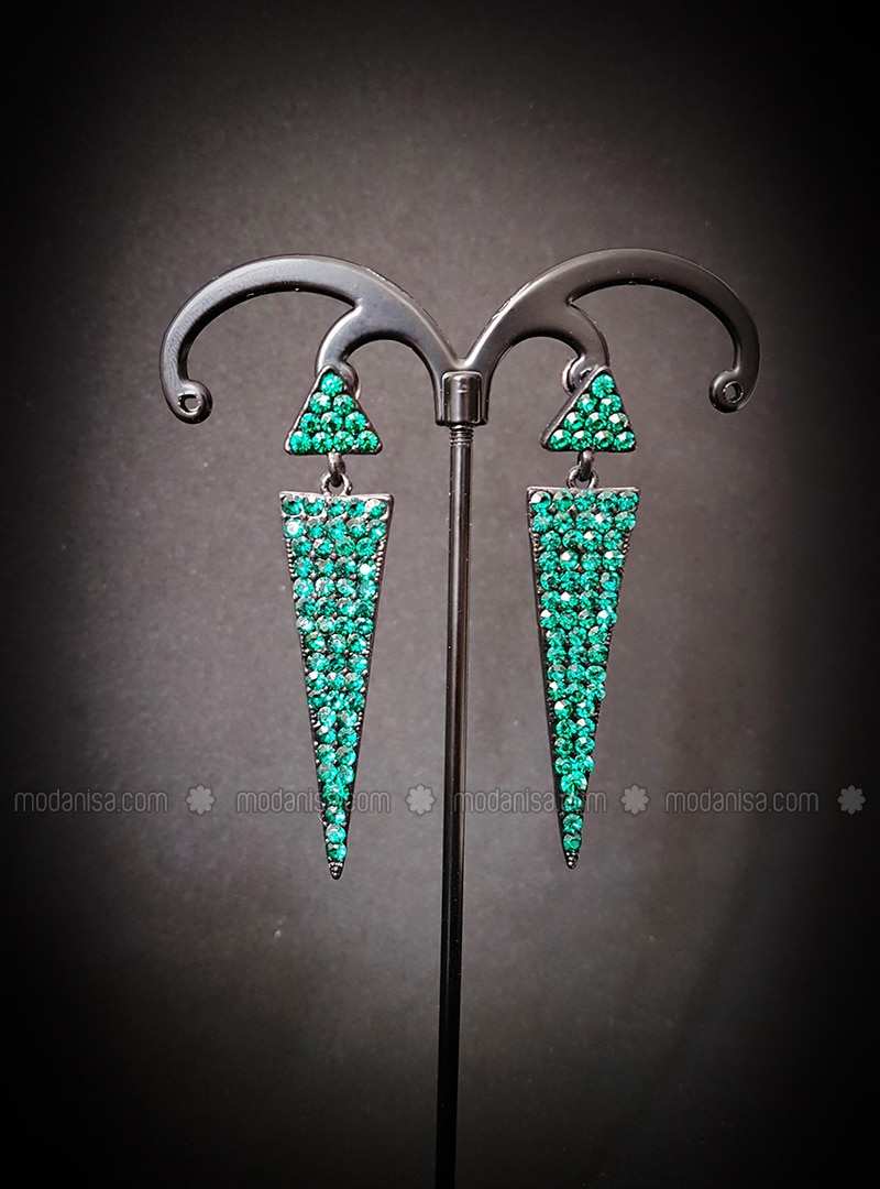 Green - Black - Earring