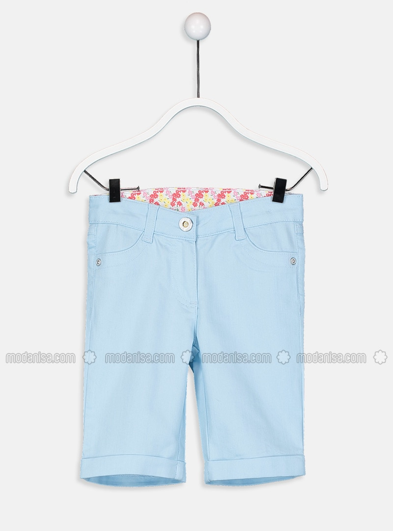Blue - Girls` Shorts