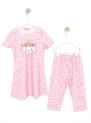 Pink - Multi - Half Covered Switsuits
