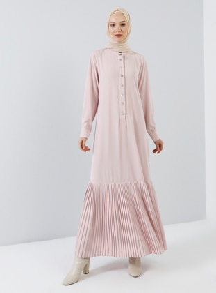 Powder - Button Collar - Unlined - Dress