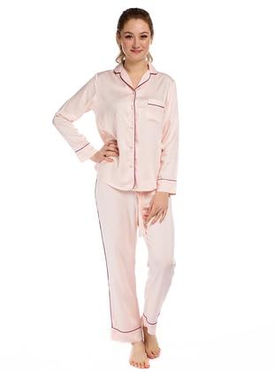 Pink - Viscose - Pyjama