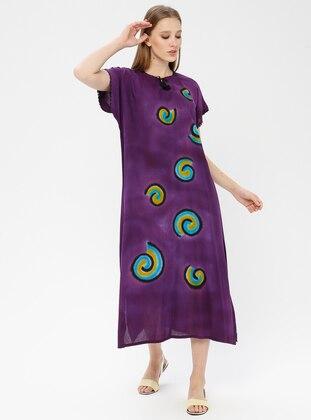 Cotton - Purple - Pareo