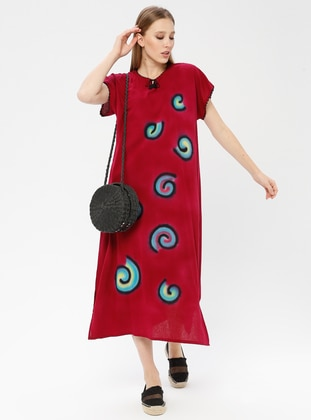 Cotton - Cherry - Pareo