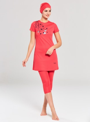Coral - Half Covered Switsuits