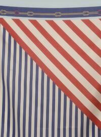 - Striped - Digital Printing - Scarf - Renkli Butik