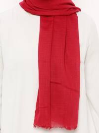 Fuchsia - Plain - Shawl - Renkli Butik