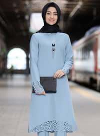 Baby Blue - Unlined - Suit