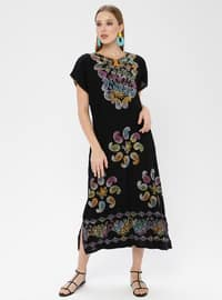 Cotton - Black - Pareo
