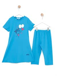 Turquoise - Multi - Fully Lined - Half Covered Switsuits