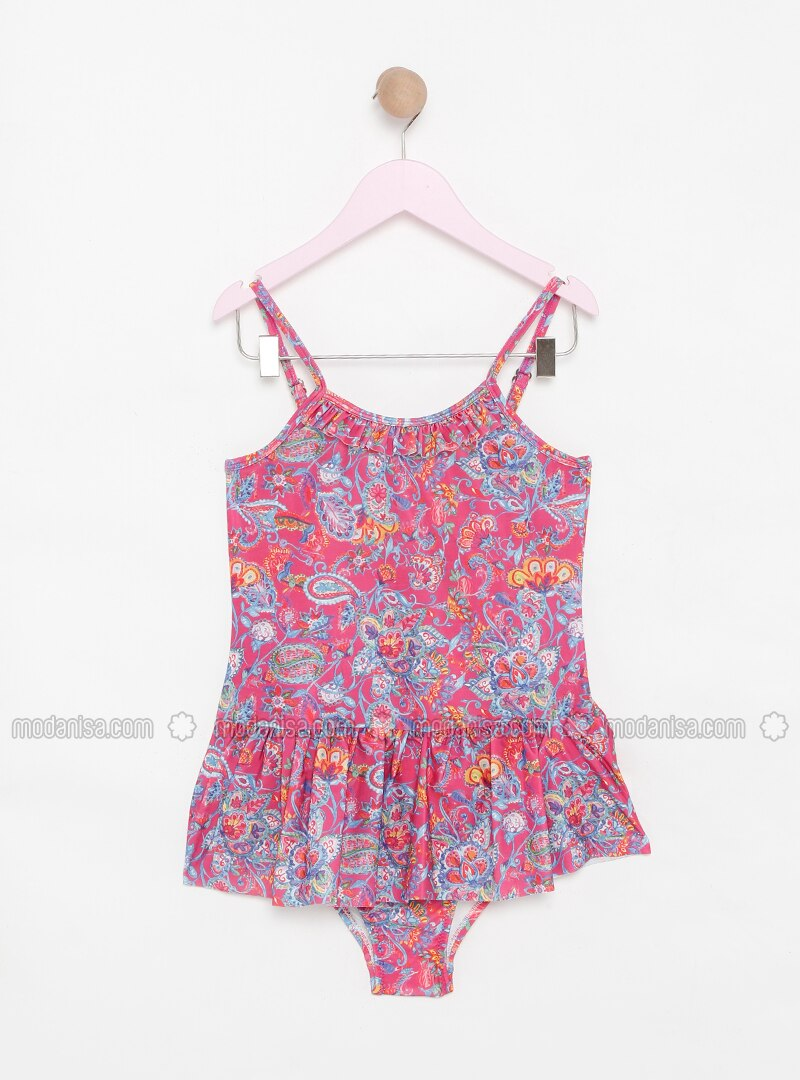 Coral - Multi - Unlined - Half Covered Switsuits
