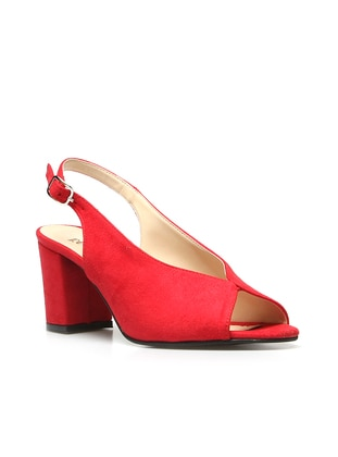 Red - High Heel - Shoes