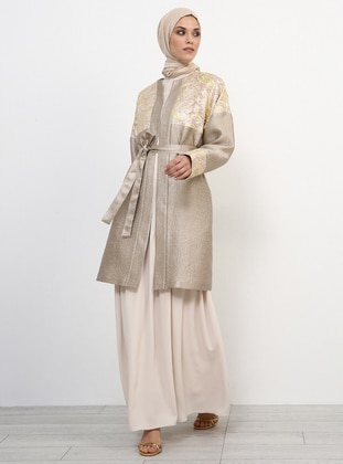 Powder - Unlined - Evening Abaya - Refka