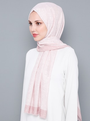 Powder - Plain - %100 Silk - Shawl
