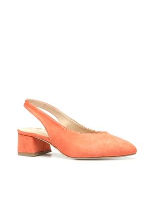 Orange - High Heel - Shoes