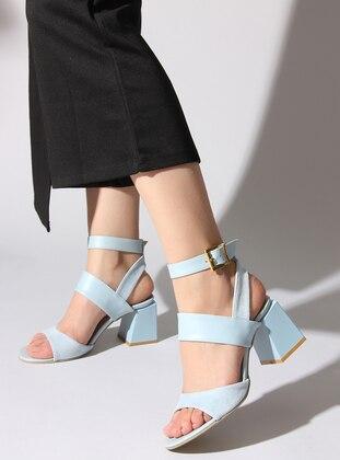 Blue - High Heel - Sandal