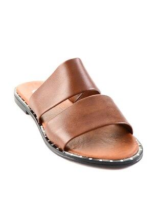 Tan - Sandal - Slippers