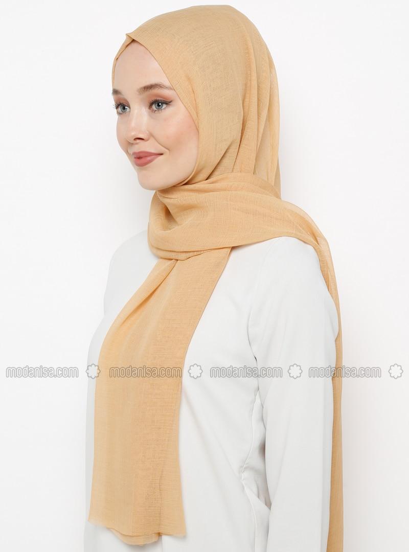 Gold - Plain - Shawl