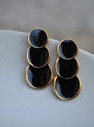 Black - Earring - Artbutika