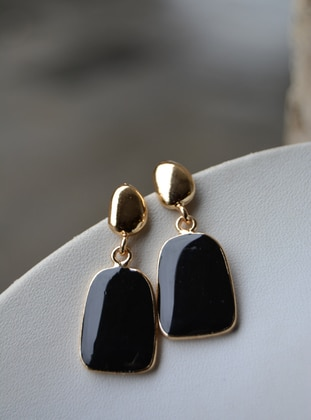 Black - Earring - Artbutika