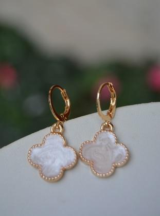 Beige - Earring - Artbutika
