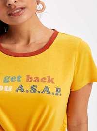 Yellow - T-Shirt