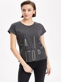 Anthracite  - T-Shirt