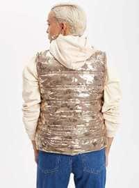 Gold - Puffer Jackets