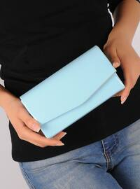 Baby Blue - Clutch Bags / Handbags