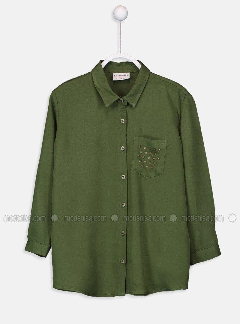 Green - Girls` Shirt