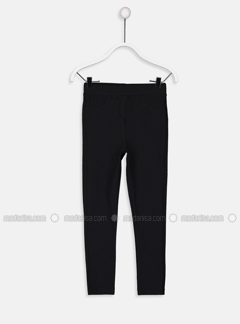 Black - Girls` Tracksuit