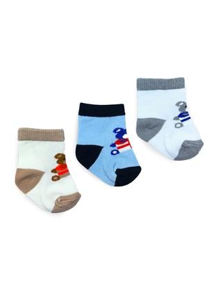 Cotton - Multi - Socks - BY LEYAL