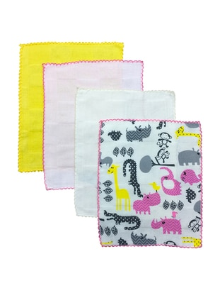 Multi - Cotton - Multi - Baby Home Textile