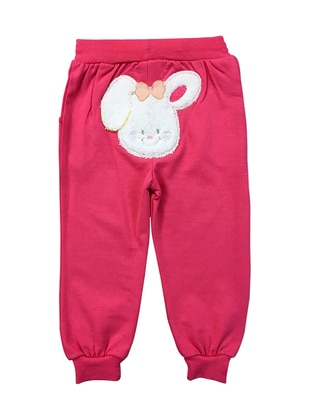 Cotton - Unlined - Pink - Fuchsia - Baby Pants