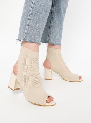 Beige - Boot - Boots - Mascha