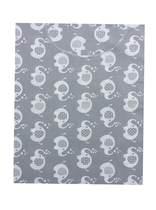 Multi - Cotton - Gray - Baby Home Textile