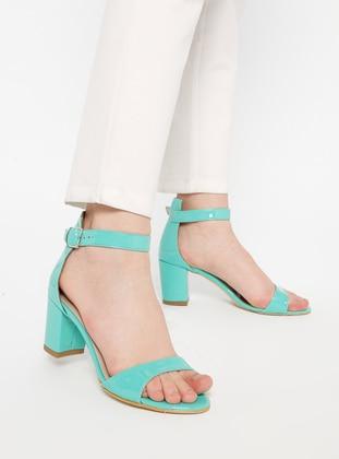 Green - High Heel - Sandal - Heels