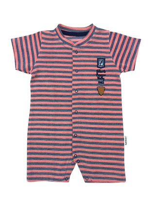 Stripe - Cotton - Pink - Overall