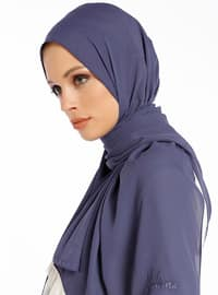 Aden Crepe Shawl - Purple