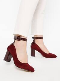 Maroon - High Heel - Heels