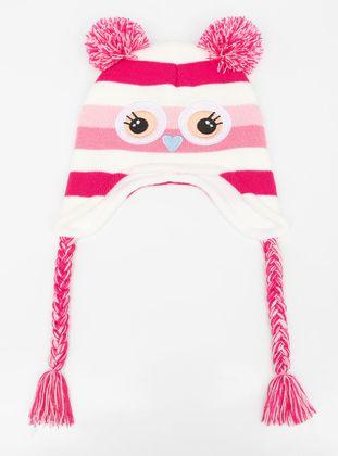 Pink - Girls` Beanie