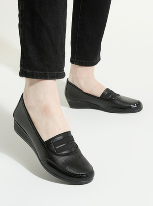 Black - Casual - Shoes - Snox
