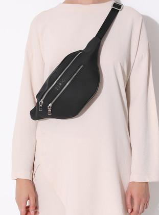 Black - Clutch - Satchel - Bum Bag