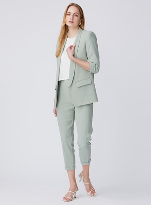 Mint - Fully Lined - Shawl Collar - Jacket